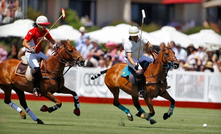 Santa Barbara Polo & Racquet Club on Sundays: General Admission - Santa Barbara Polo & Racquet Club in Carpinteria