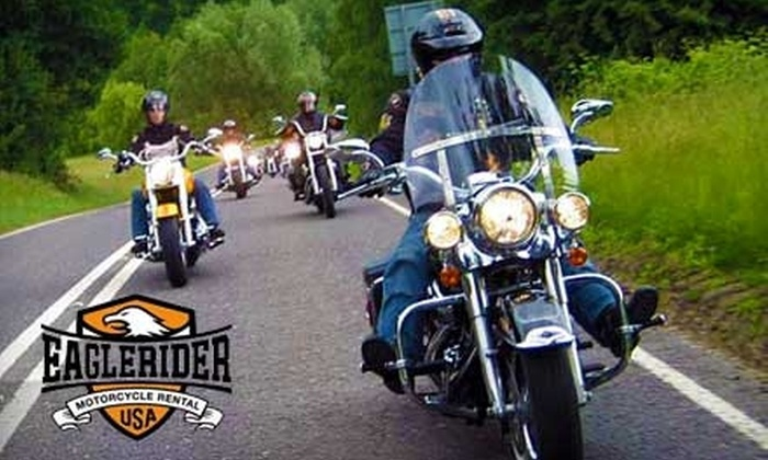 EagleRider of the Smokies - Sevierville: $70 for a One-Day Motorcycle Rental from EagleRider of the Smokies in Kodak (Up to $140 Value)