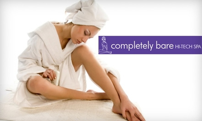 Completely Bare - Multiple Locations: $37 for a Brazilian Wax at Completely Bare ($74 Value)