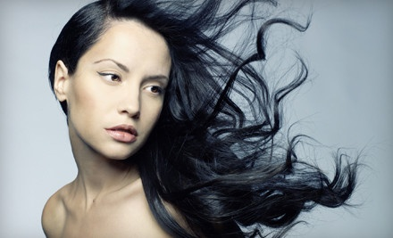 Women's Haircut with Finishing Style  - Stiletto Hair Studio in Mission