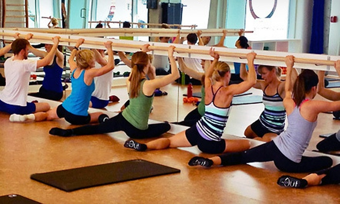 iNSiDE Out STUDiO barre - Island Park: Five Barre Classes or One Month of Unlimited Barre Classes at iNSiDE Out STUDiO barre (Up to 75% Off)
