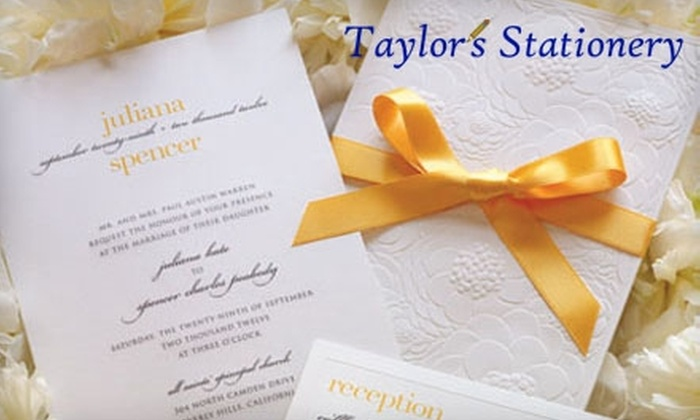 Taylor's Stationery - Needham: $10 for $20 Worth of Stationery, Special Cards, Seasonal Gifts, and More at Taylor's Stationery in Needham
