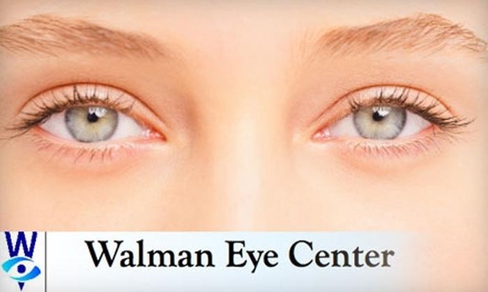 Walman Eye Center - Multiple Locations: $849 for Lasik Corrective Surgery for One Eye at Walman Eye Center ($1,700 Value)
