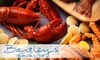 Bartley's Dockside - Kennebunkport: $20 for $50 Worth of Fresh Seafood and Drinks