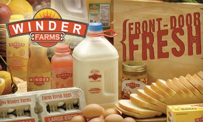 Winder Farms - Salt Lake City: $20 for $50 Worth of Home-Delivered Groceries Plus Waived Sign-Up and Delivery Fees from Winder Farms ($68 Value)