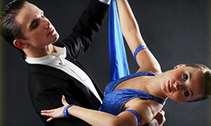Ballroom Elegance Dance Studio - Westport: $30 for a Couples Ballroom-Dance-Lessons Package at Ballroom Elegance Dance Studio (Up to $200 Value)
