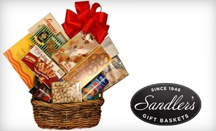 Sandler's Gift Baskets: All Occasion Gourmet Basket - Sandler's Gift Baskets in