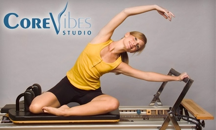 CoreVibes Studio - Montgomery: $25 for Five Pilates Classes or Three Equipment Classes at CoreVibes Studio (Up to $75 Value)