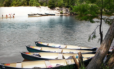 All-Day Canoe, Kayak, or Tube Rentals for 2 - Perdido Natural Adventures in Molino