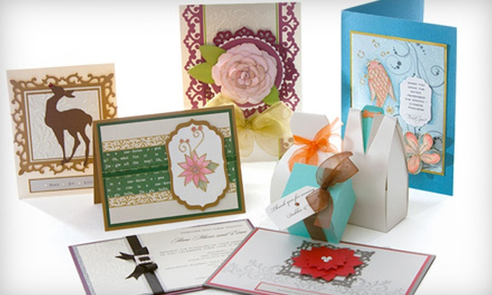 Making Memories with Scrapbooking - Willingdon Heights: Two-Hour Card-Making Class or $18 Worth of Scrapbooking Materials at Making Memories with Scrapbooking in Burnaby