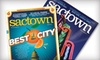 Sactown Magazine: $6 for a One-Year Subscription (Six Issues) to Sactown Magazine ($12 Value)