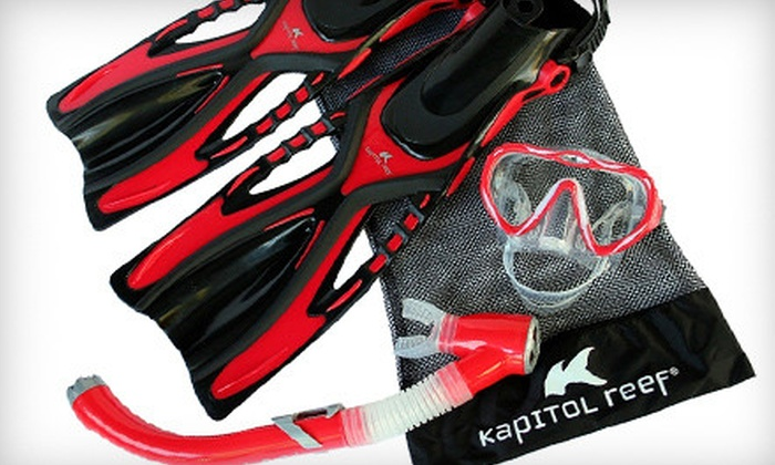 K2 Snorkel - North Hollywood: $94 for a Kapitol Reef Snorkel Package from K2 Snorkel in North Hollywood ($189.97 Value)