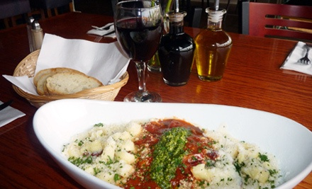 $40 Groupon Valid from March 1st-31st - Uptown Pasta in Vancouver