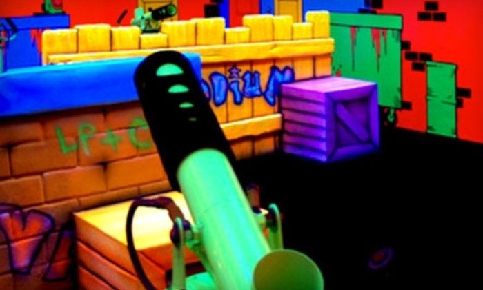 EZ Street - Kitchener - Waterloo: One Round or Two Hours of Unlimited Laser Tag at EZ Street