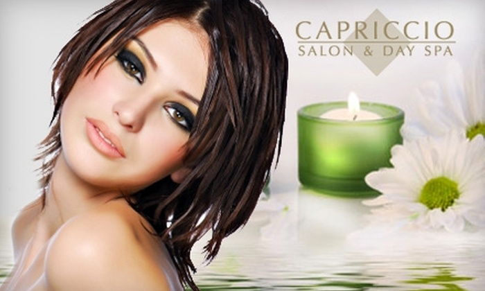 Capriccio Salon and Spa - Carlsbad: $49 for $125 Worth of Services and Products at Capriccio Salon and Spa in Carlsbad