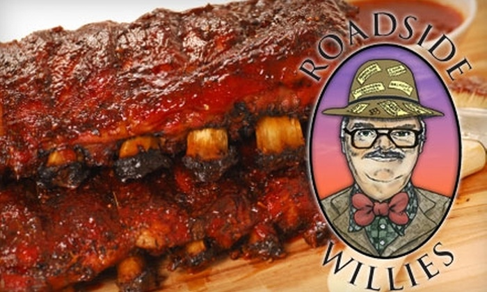 Roadside Willies Smokehouse & Bar - Truro: $12 for $25 of Barbecue Fare and Drinks at Roadside Willies Smokehouse & Bar