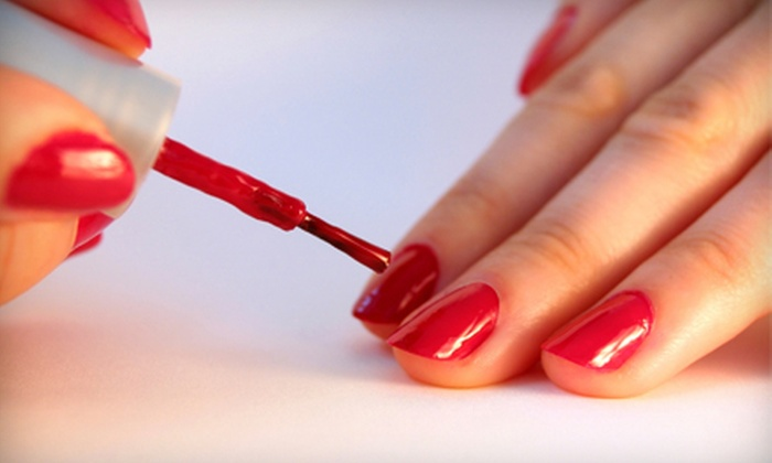 W Nails & Spa - Pentagon City: $30 for a Signature Manicure and Lemon Pedicure at W Nails & Spa in Arlington ($63 Value)
