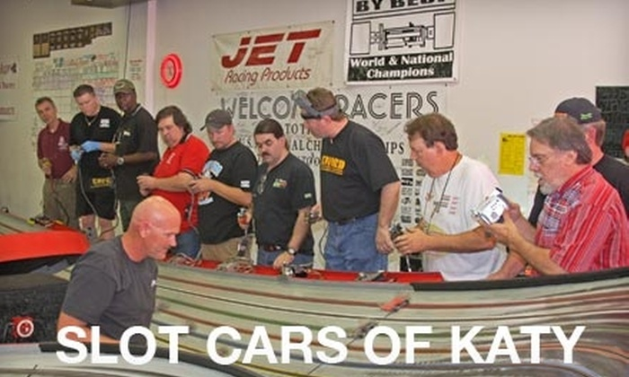 Slot Cars of Katy - Houston: $10 for One Hour of Slot-Car Racing and Car Rental at Slot Cars of Katy ($20 Value)