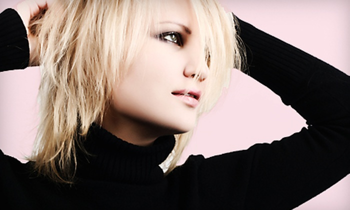 Mirabella Hair Design - Tempe: Mani-Pedi or Haircut at Mirabella Hair Design in Tempe