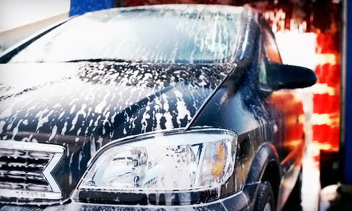 Quick Quack Car Wash - Multiple Locations: $29 for Five Lucky Duck Eco-Friendly Car Washes at Quick Quack Car Wash ($74.95 Value). Three Locations Available.