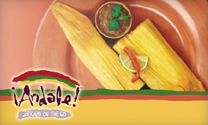 Andale - Downtown: $10 for $20 Worth of Burritos, Enchiladas, and More at Andale