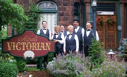 $50 Groupon to Alfred's Victorian  - Alfred's Victorian  in Middletown