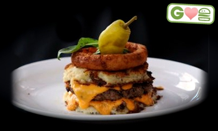 The Park Tavern Bowling & Entertainment Center - St. Louis Park: $9 for Two Burger Entrees at The Park Tavern Bowling & Entertainment Center (Up to $23.50 Value)
