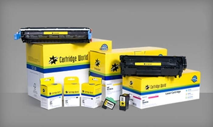 Cartridge World - Knollwood: $10 for $20 Worth of Ink and Toner Refills at Cartridge World