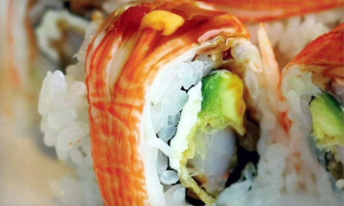 Bai Wei - West Crabapple Office Park: Sushi for Two or Four at Bai Wei in Roswell