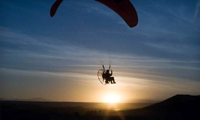 Iowa Powered Paragliding - Multiple Locations: Powered-Paragliding Lessons from Iowa Powered Paragliding (Up to 63% Off). Three Options Available.