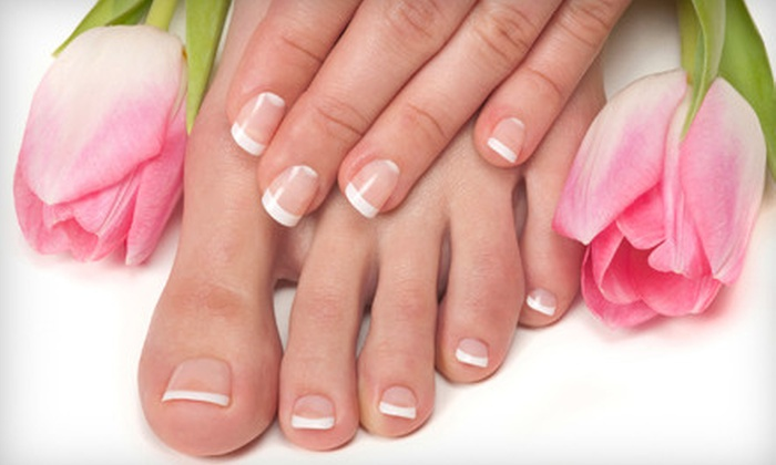 Salon Nani - San Buenaventura (Ventura): Mani-Pedi or Shellac Manicure and Regular Pedicure at Salon Nani (Up to 53% Off)