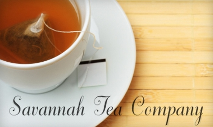 Savannah Tea Company - Germantown: $10 for $20 Worth of Tea & Light Eats at Savannah Tea Company