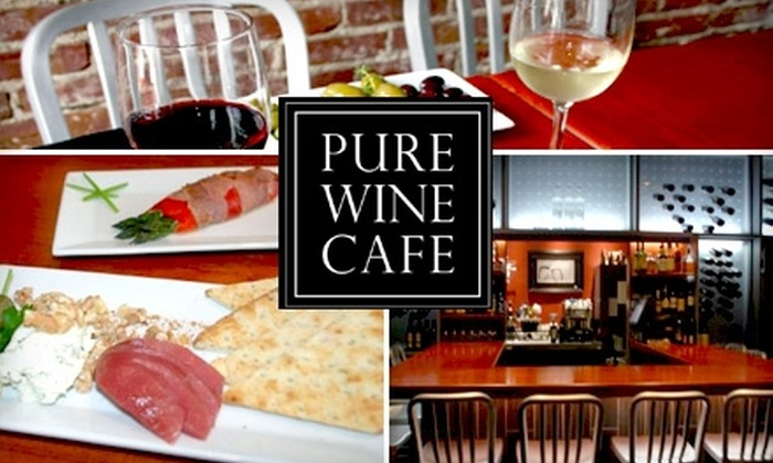 Pure Wine Cafe - Ellicott City: $15 for $35 Worth of Fine Wine & Small Plates at Pure Wine Café