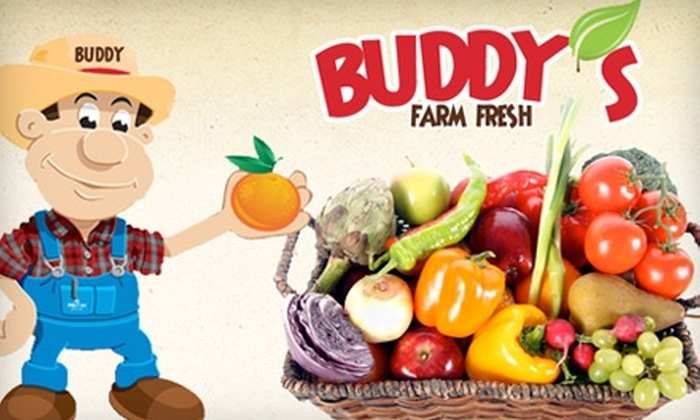 Buddy's Farm Fresh - Van Ness Extension: $10 for $20 Worth of Produce at Buddy's Farm Fresh