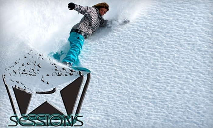Sessions Winter Sale - Downtown Santa Cruz: $45 for $100 Worth of Outdoor Sports Apparel and Accessories at Sessions Winter Sale