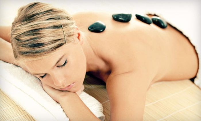 Escape Salon and Spa - Glen Ellyn: One-Hour Custom Facial, One-Hour Hot-Stone Massage, or Both at Escape Salon and Spa in Glen Ellyn (Up to 56% Off)