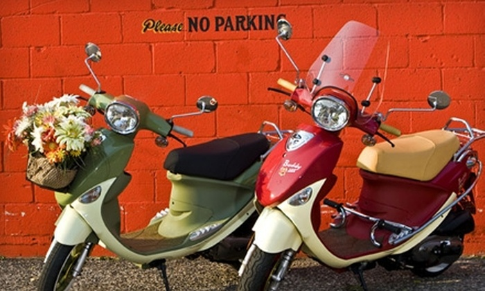 Philadelphia Scooters - Bella Vista/ Southwark: $2,400 for a Buddy 150 International Scooter at Philadelphia Scooters ($3,199 Value)
