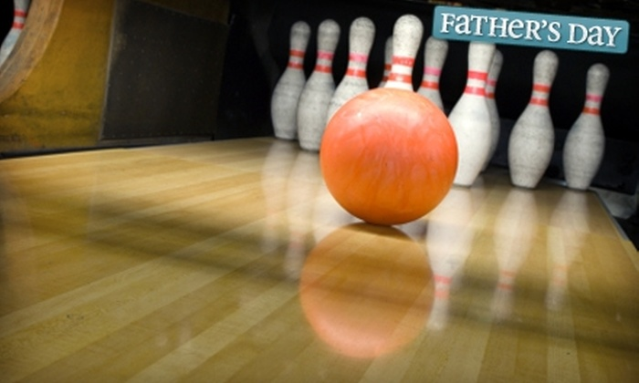 Pin Chasers - Multiple Locations: $20 for Two Games of Bowling for Five Plus Beverages at Pin Chasers (Up to $56.90 Value). Three Locations Available.