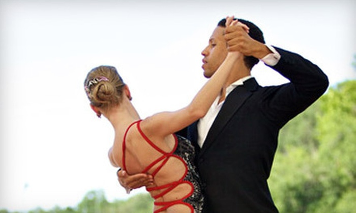 Savannah Ballroom Dancing - Oakhurst: Three Private Dance Classes with Two Weeks of Group Classes or Three Group Classes  at Savannah Ballroom Dance (Up to 67% Off)