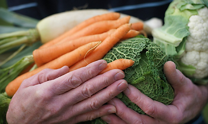 Planet Organics - Browns Valley: $16 for a Home-Delivered Produce Box from Planet Organics ($32 Value)
