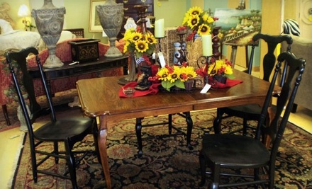 $100 Groupon to Classic Home Decor Consignment - Classic Home Decor Consignment in Pelham
