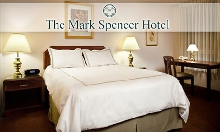 The Mark Spencer Hotel - Portland: $89 for One Night in an Executive Suite with Included Parking at The Mark Spencer Hotel