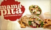 $7 for Mediterranean Fare at Mama Pita in Plano