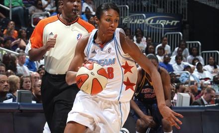 Ticketmaster: Atlanta Dream vs. Los Angeles Sparks at Philips Arena on Thu., July 28 at 7PM: Sections 114-116 - Atlanta Dream in Atlanta