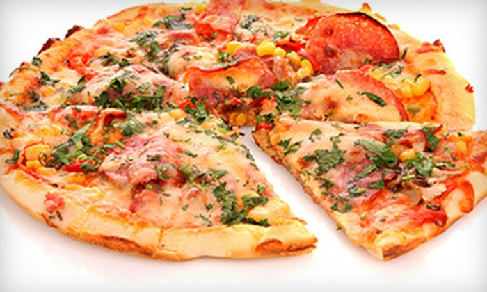 Broadway Pizza and Pasta - Ridgeview Ranch: Pizza Meal for Four or $10 for $20 Worth of Italian-American Fare at Broadway Pizza and Pasta in Plano