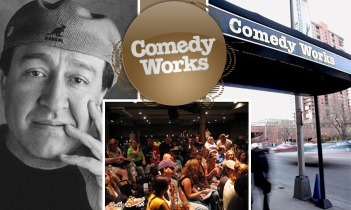 Comedy Works - Denver: $30 for Dinner and a Show at Comedy Works. Buy Here for Dom Irrera, 9/26 at 9:30 p.m. Other Dates Below.