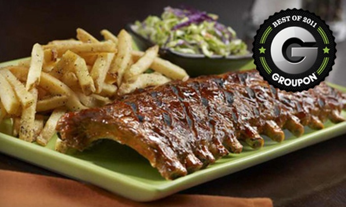 Tony Roma's Green Bay - Ashwaubenon: $12 for $25 Worth of Ribs, Steak, and Seafood at Tony Roma's