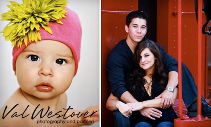 """Val Westover Photography - East Central: $49 for Three One-Hour Photo Sessions, a 15-Image CD, and 25% Off Print Orders with a Free 8"""" x 10"""" Print from Val Westover Photography (Up to $420 Value)"""