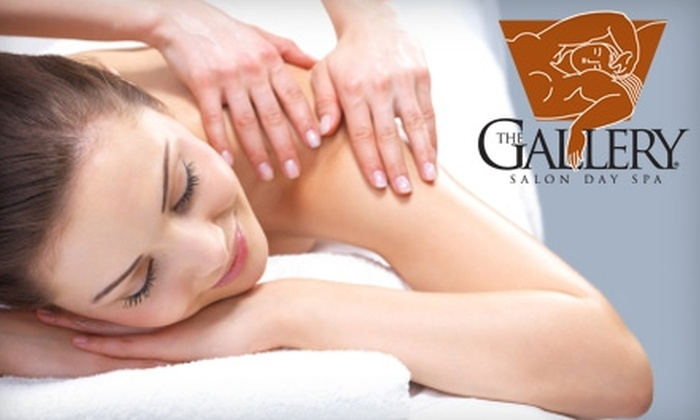The Gallery Salon Day Spa - Mid City South: $35 for a One-Hour Therapeutic Body Massage at The Gallery Salon Day Spa ($80 Value)
