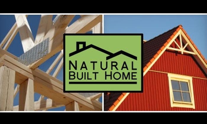 Natural Built Home - Hiawatha: $20 for $40 Worth of Eco-Friendly Home Improvement Supplies at Natural Built Home